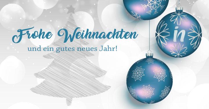 Frohe Weihnachten und einen guten Rutsch ins Jahr 2018!