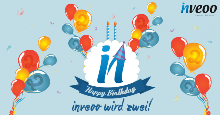 inveoo feiert Geburtstag!