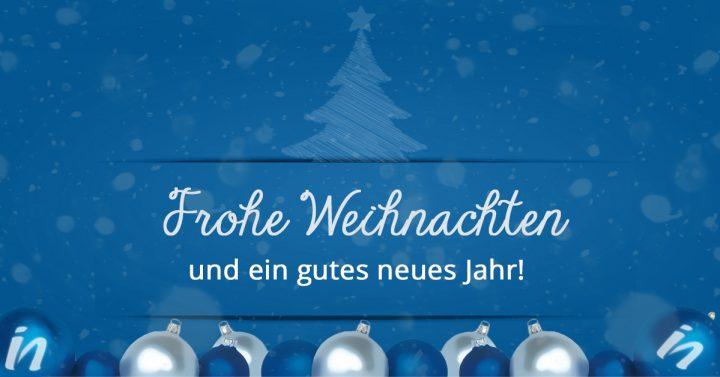 Frohe Weihnachten und ein gutes neues Jahr 2017!