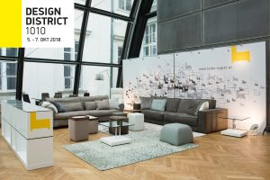 DESIGN DISTRICT in Wien vom 5. bis 7. Oktober 2018