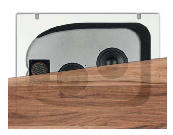 neu unsichtbare lautsprecher f r den m beleinbau inveoo. Black Bedroom Furniture Sets. Home Design Ideas