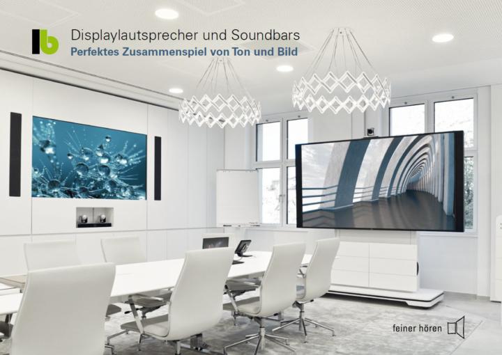 Displaylautsprecher und Soundbars von LB