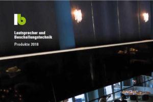 neue Produkte / neuer Katalog von lb Lautsprecher