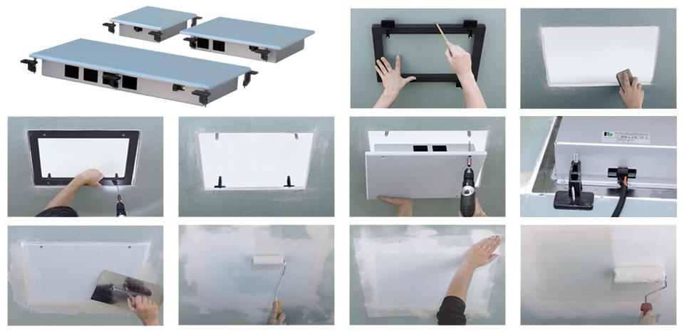 unsichtbare lautsprecher einbaulautsprecher inveoo. Black Bedroom Furniture Sets. Home Design Ideas