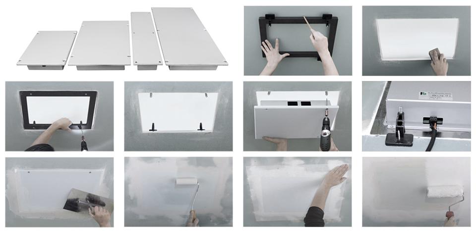 unsichtbare Lautsprecher - Einbauanleitung (kurz)